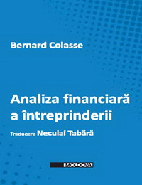 coperta carte analiza financiara a intreprinderii de bernard colasse
