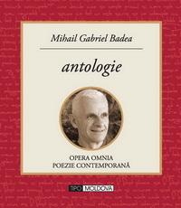 coperta carte antologie de mihail gabriel badea