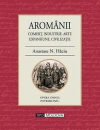 coperta carte aromanii de anastase n. haciu