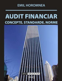 coperta carte audit financiar editia a v-a, 2015 de emil horomnea