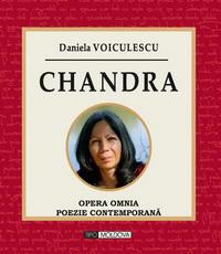 coperta carte chandra de daniela voiculescu