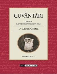 coperta carte cuvantari de miron cristea