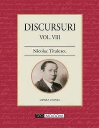 coperta carte discursuri de nicolae titulescu