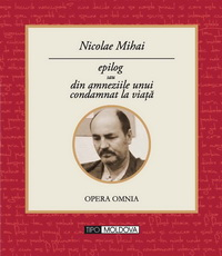 coperta carte epilog de nicolae mihai