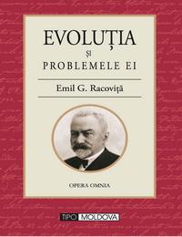 coperta carte evolutia si problemele ei de emil g. racovita