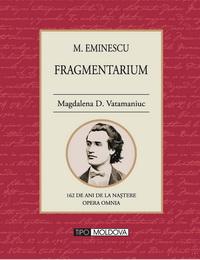 coperta carte fragmentarium de magdalena d. vatamaniuc