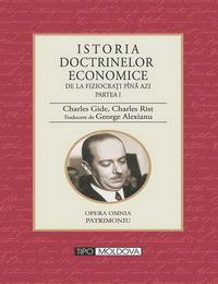 coperta carte istoria doctrinelor economice - vol. i de george alexianu