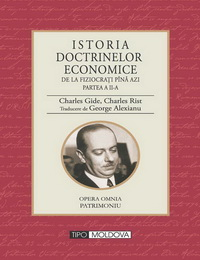 coperta carte istoria doctrinelor economice - vol. ii de george alexianu
