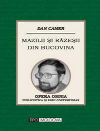 coperta carte mazilii si razesii din bucovina de dan camer