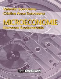 coperta carte microeconomie de valentin soroceanu, cristina anca soroceanu