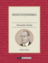 coperta carte neointuitionismul de alexandru surdu