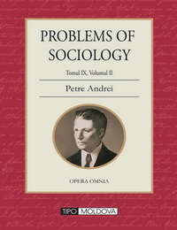 coperta carte problems of sociology de petre andrei