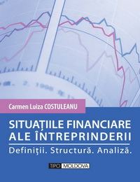 coperta carte situatiile financiare ale intreprinderii de carmen luiza costuleanu