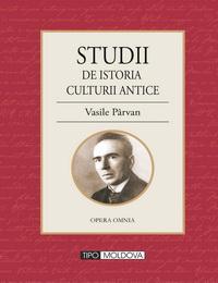 coperta carte studii de istoria culturii antice de vasile parvan