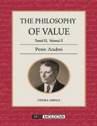 coperta carte the philosophy of value de petre andrei