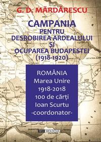 coperta carte campania pentru desrobirea ardealului si ocuparea budapestei de generalul g. d. mardarescu