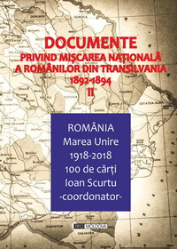 coperta carte documente privind miscarea nationala a romanilor din transilvania 1881-1891, vol. ii de -