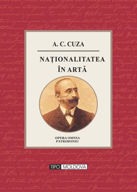coperta carte nationalitatea in arta de a. c. cuza